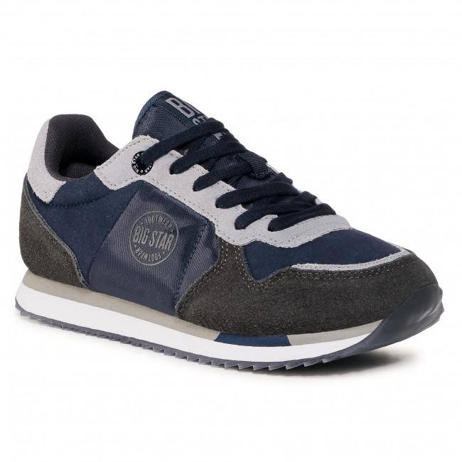 Sneakersy BIG STAR - GG274A056 403 Navy/Grey
