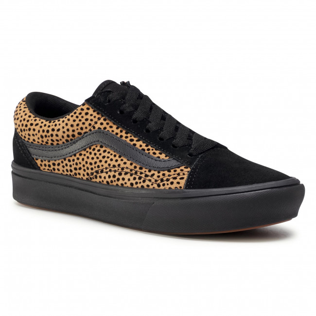 Tenisówki VANS - Comfycush Old Sko VN0A3WMAVWS1 (Tiny Cheetah) Black