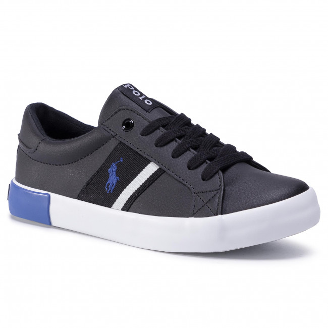 Sneakersy POLO RALPH LAUREN - Gregot RF102512 Black/Royal
