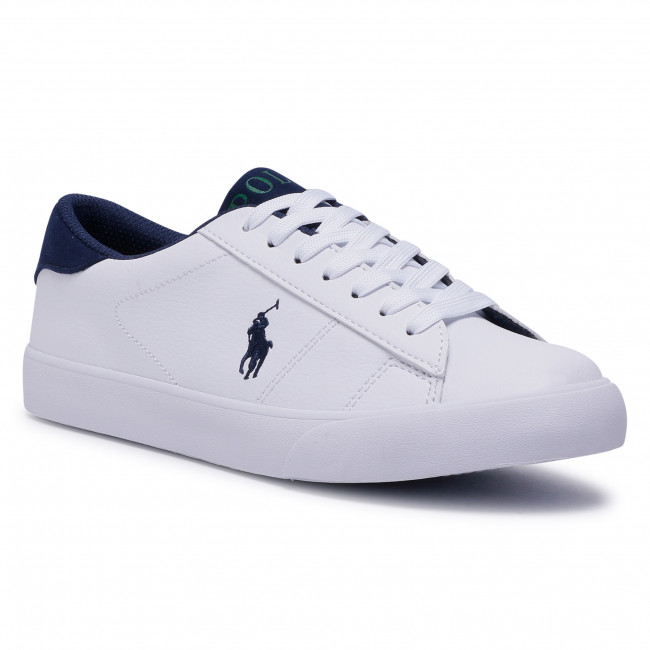 Sneakersy POLO RALPH LAUREN - Theron III RF102520 Whitwe/Navy