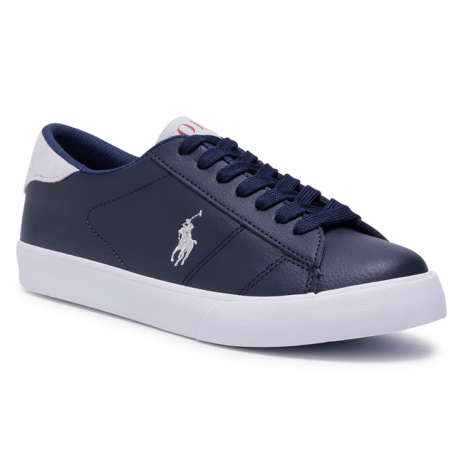 Sneakersy POLO RALPH LAUREN - Theron III RF102519 Navy/Ltgrey