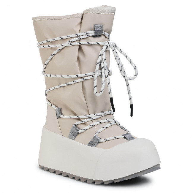 Śniegowce UNITED NUDE - Polar Calf Boot 1059414312562 Off White