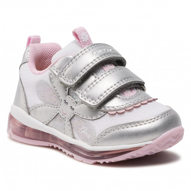 Sneakersy GEOX - B Todo G. A B1585A 0NF14 C0566 Silver/Pink