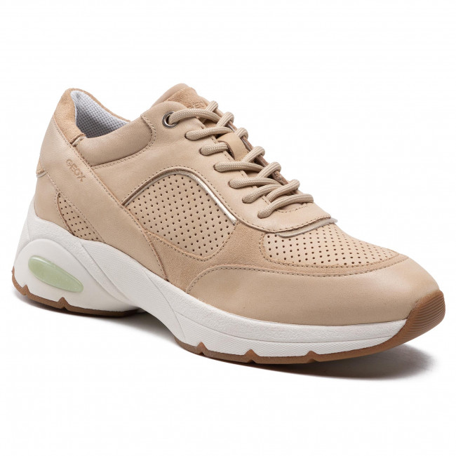 Sneakersy GEOX - D Alhour A D15FGA 0CL22 C5004 Sand