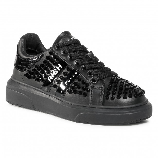 Sneakersy JOHN RICHMOND - 3014/CP B Black