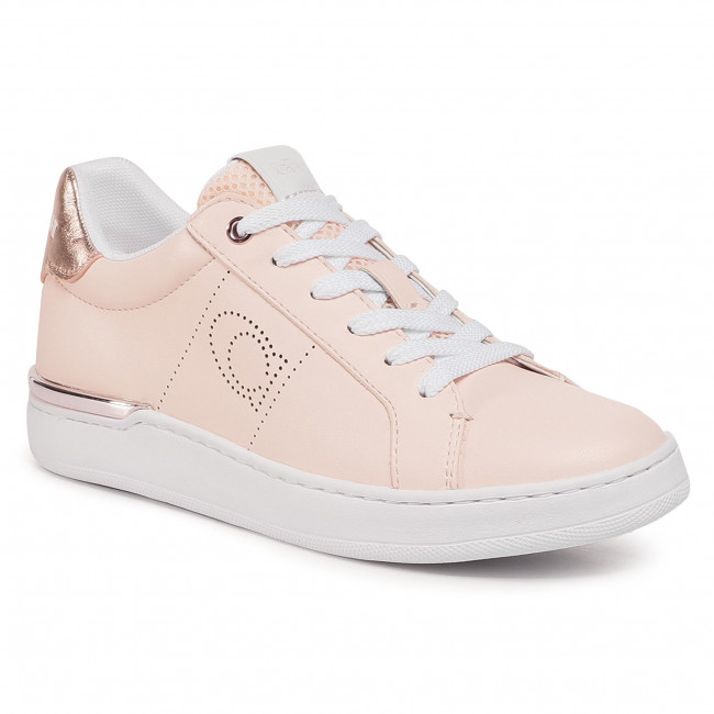 Sneakersy COACH - Lowline Leather G5499 1001127 Pink Champagne