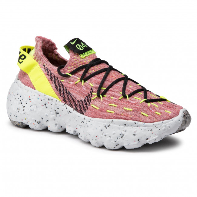 Buty NIKE - Space Hippie 04 CD3476 700 Lemon Venom/Black