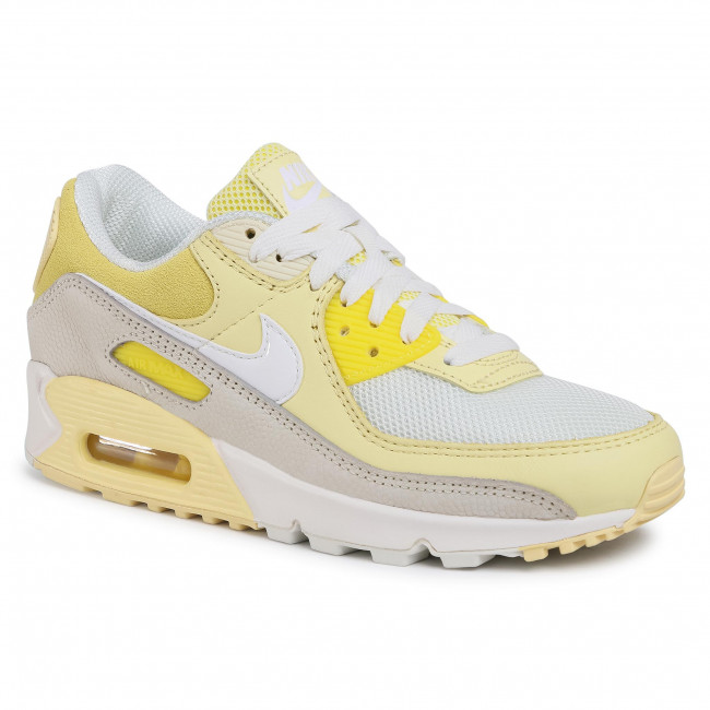 Buty NIKE - Air Max 90 CW2654 Opti Yellow/White/Fossil