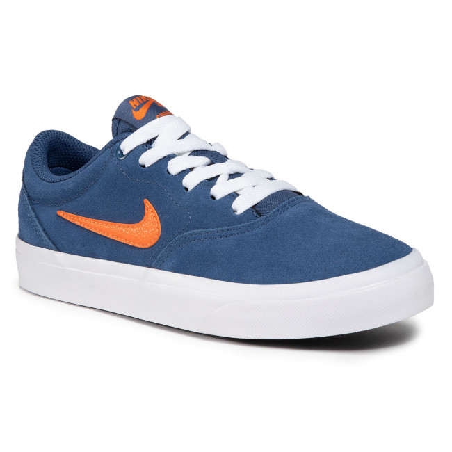 Buty NIKE - Sb Charge Suede (Gs) CT3112 401 Mystic Navy/Starfish