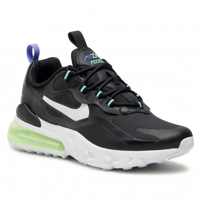 Buty NIKE - Air Max 270 React (GS) CZ4212 001 Black/White/Laser Orange