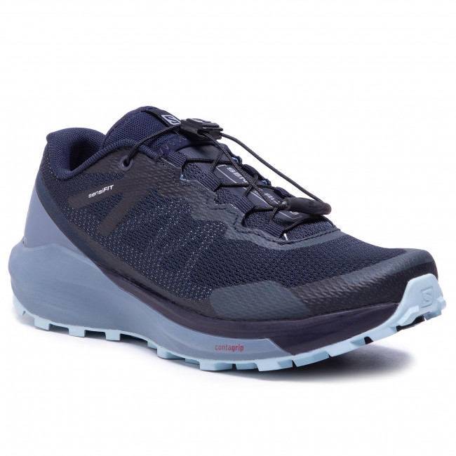 Buty SALOMON - Sense Ride 3 W 409697 20 V0  Navy Blazer/Flint Stone/Angel Falls