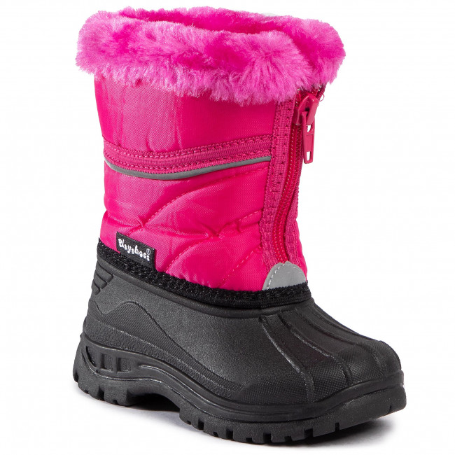 Śniegowce PLAYSHOES - 193007 Pink 18