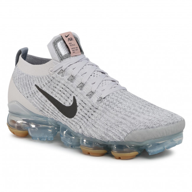 Buty NIKE - Air Vapormax Flyknit 3 CT1270 003 Vast Grey/Mtlc Dark Grey