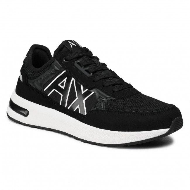Sneakersy ARMANI EXCHANGE - XUX090 XV276 00002 Black