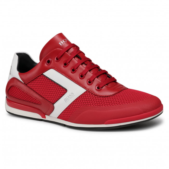 Sneakersy BOSS - Saturn 50445677 10230782 01 Medium Red 610