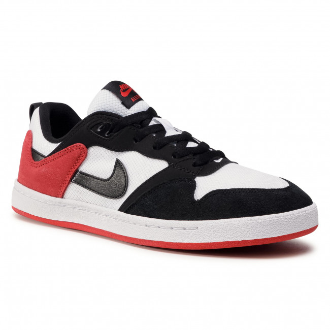 Buty NIKE - Sb Alleyoop CJ0882 102  White/Black/University Red
