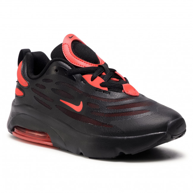 Buty NIKE - Air Max Exosense (PS) CN7877 001 Black/Chile Red/Black