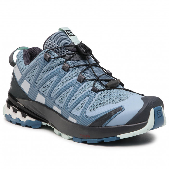 Buty SALOMON - Xa Pro 3D V8 W 412721 20 V0 Ashley Blue/Ebony/Opal Blue