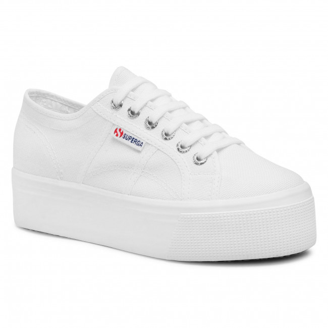 Tenisówki SUPERGA - 2790 Cotw Linea Up And Down S9111LW White 901