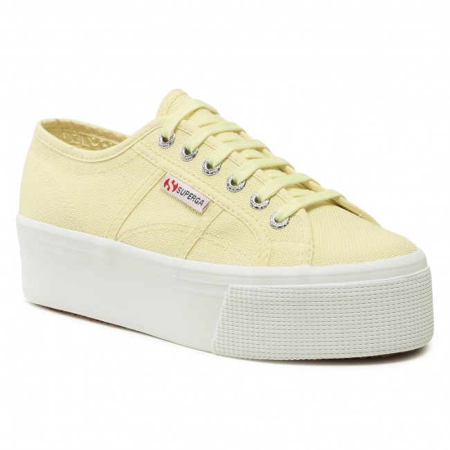 Tenisówki SUPERGA - 2790 Cotw Linea Up And Down S9111LW Yellow Lt 064