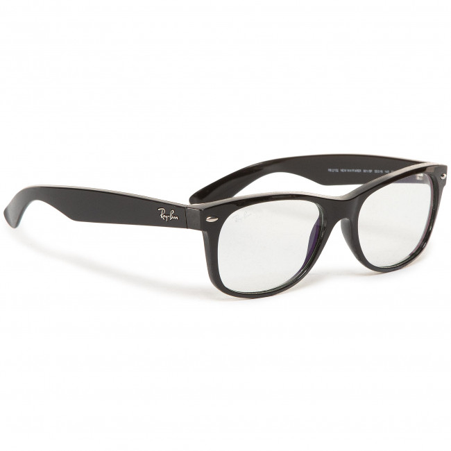 Everglasses RAY-BAN - New Wayfarer 0RB2132 901/BF Black
