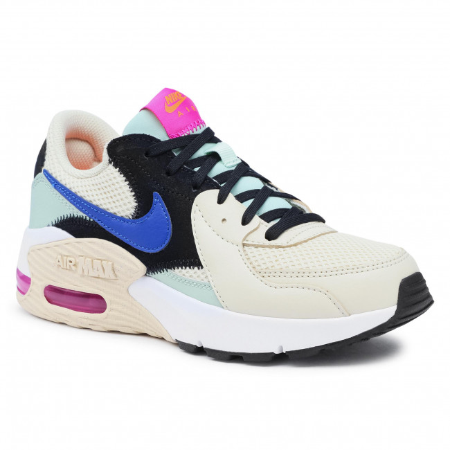 Buty NIKE - Air Max Excee CD5432 200 Fossil/Hyper Blue