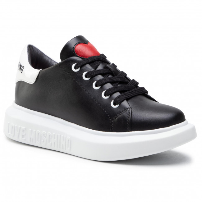 Sneakersy LOVE MOSCHINO - JA15284G1CIA300A Nero