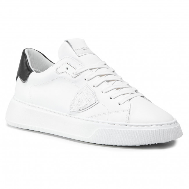 Sneakersy PHILIPPE MODEL - Temple BTLU V007 Blanc Noir
