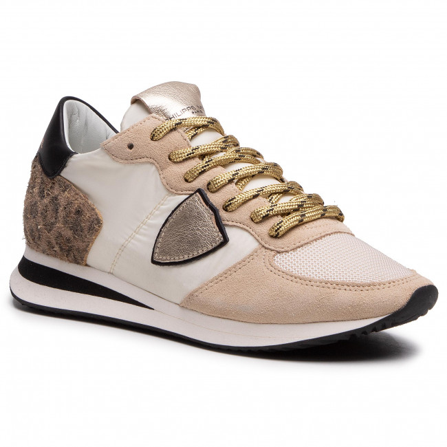 Sneakersy PHILIPPE MODEL - Trpx TZLD WA11  Animalier/Blanc Or