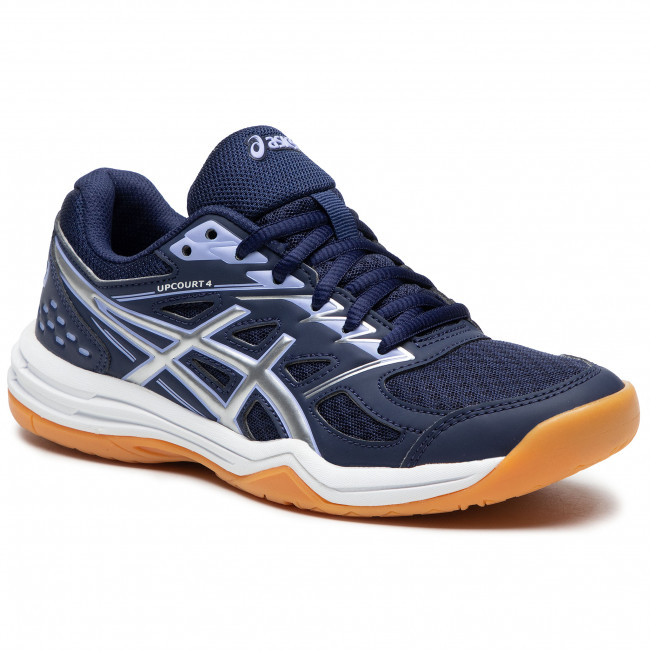 Buty ASICS - Upcourt 4 1072A055 Peacoat/Pure Silver 400