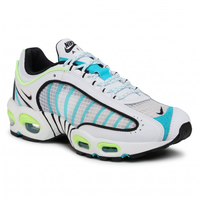 Buty NIKE - Air Max Tailwind IV Se CJ0641 100 White/Black/Ghost Green