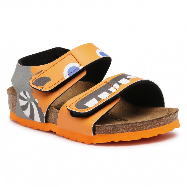 Sandały BIRKENSTOCK - Palu Kids Bs 1019047 Monster Orange