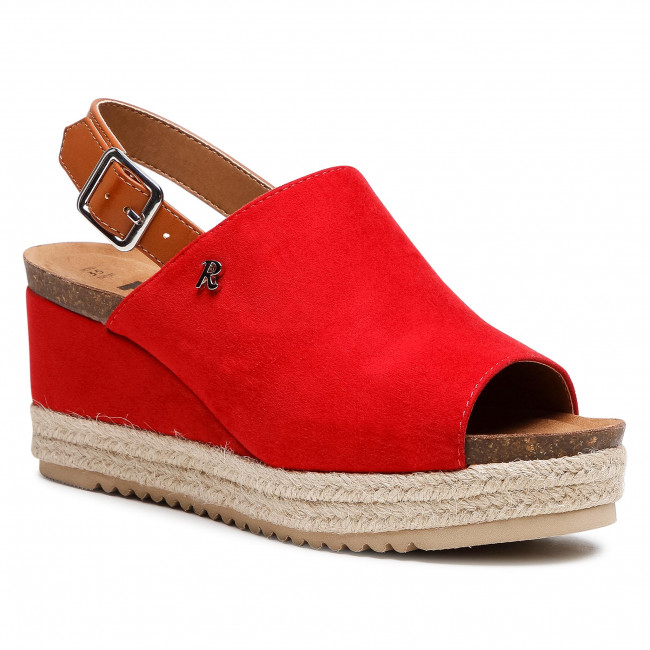 Espadryle REFRESH - 72638 Red