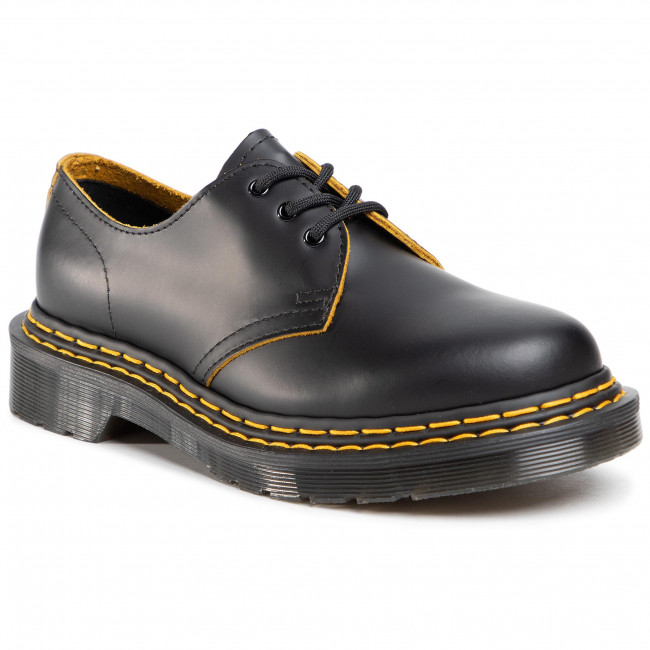 Półbuty DR. MARTENS - 1461 dS 26101032 Black/Yellow