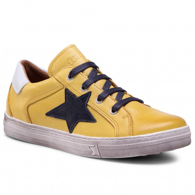 Sneakersy FRODDO - G3130162-4 Yellow