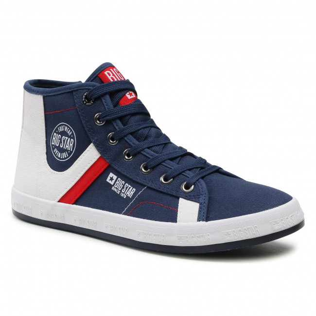 Sneakersy BIG STAR - HH174027 Navy/White