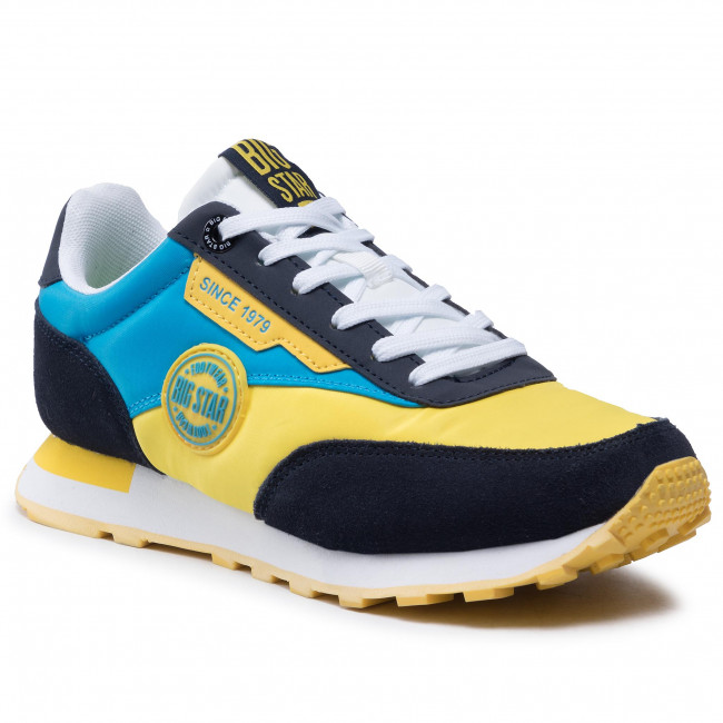 Sneakersy BIG STAR - HH274525 Yellow