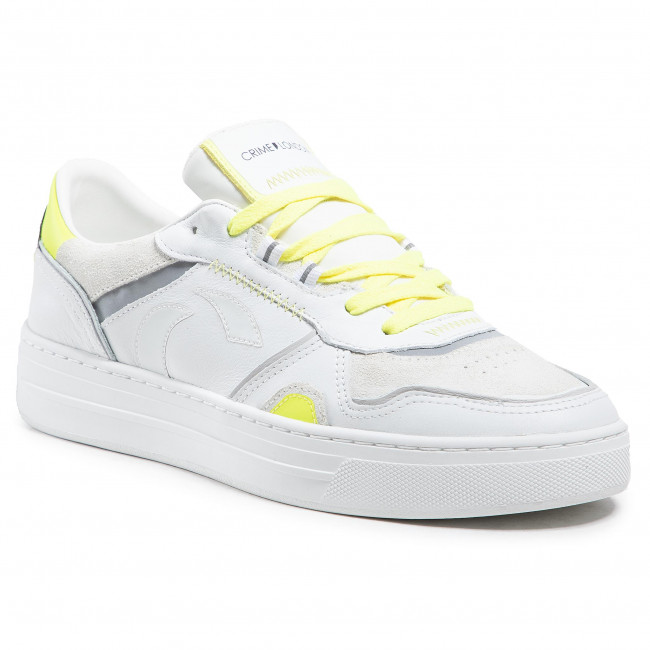 Sneakersy CRIME LONDON - Low Top Off Court 11000PP3.10 Biały