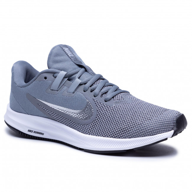 Buty NIKE - Downshifter 9 AQ7481 001 Cool Grey/Metallic Silver