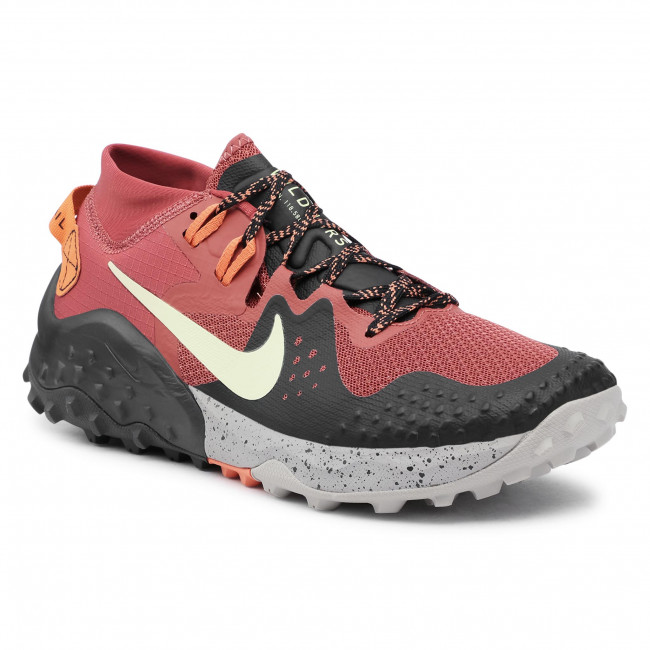 Buty NIKE - Wildhorse 6 BV7106 Claystone Red/Life Lime/Black