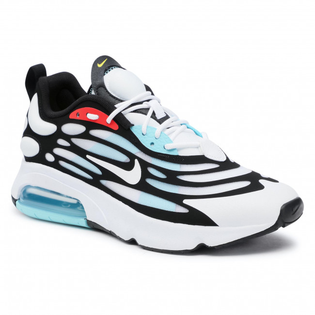Buty NIKE - Air Max Exosense CK6811 100  White/White/Black/Chile Red