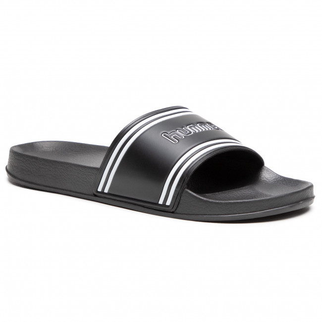 Klapki HUMMEL - Pool Slide Retro 206575-2001 Black