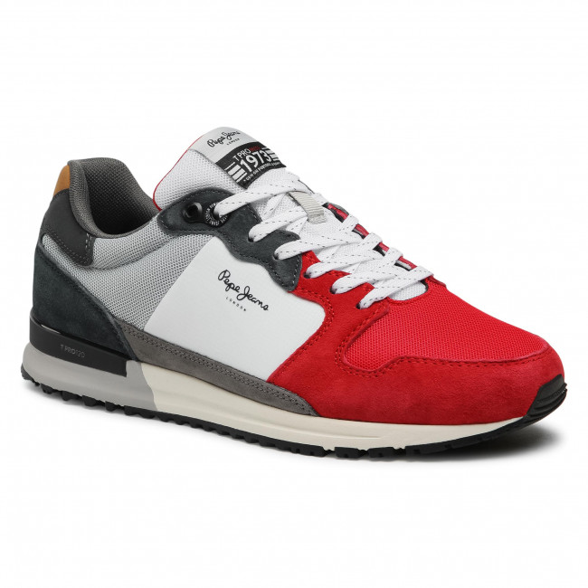 Sneakersy PEPE JEANS - Tinker Pro Rump 2.0 PMS30730  Red 255