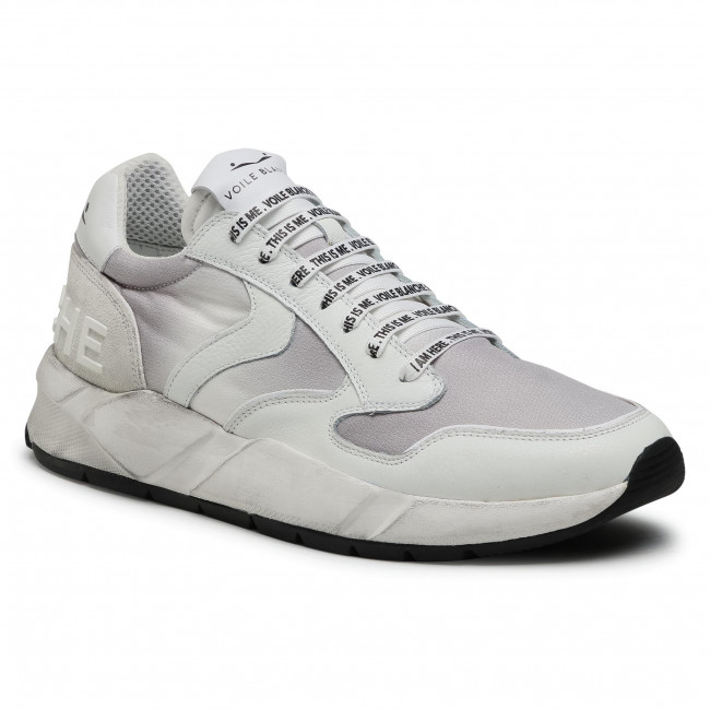 Sneakersy VOILE BLANCHE - Arpolh 0012015693.02.1N14 White/Grey