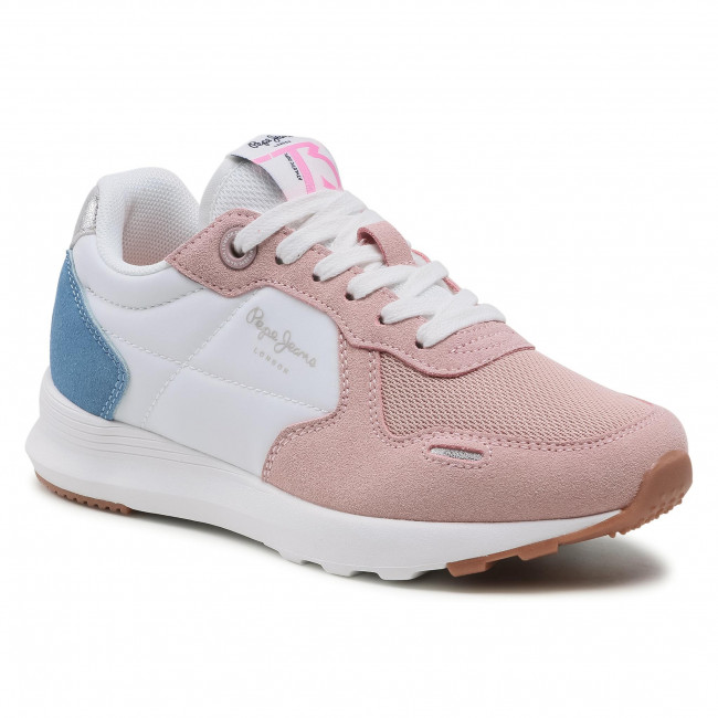 Sneakersy PEPE JEANS - York Basic Girl PGS30493 Mauve Pink 319