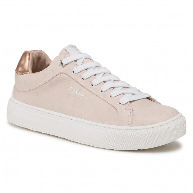 Sneakersy PEPE JEANS - Adams Molly PLS31159 Pale Pink 300