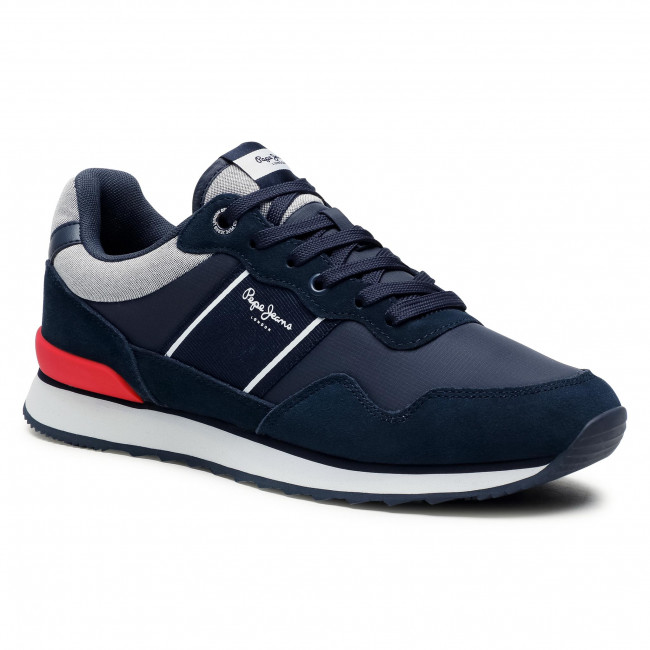 Sneakersy PEPE JEANS - Cross 4 Sailor PMS30702  Navy 595