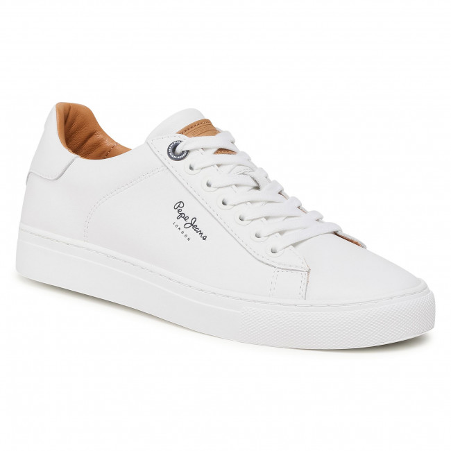 Sneakersy PEPE JEANS - Joe Cup PMS30724  White 800