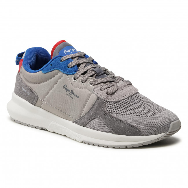 Sneakersy PEPE JEANS - Park Air Knit PMS30738 Grey 945