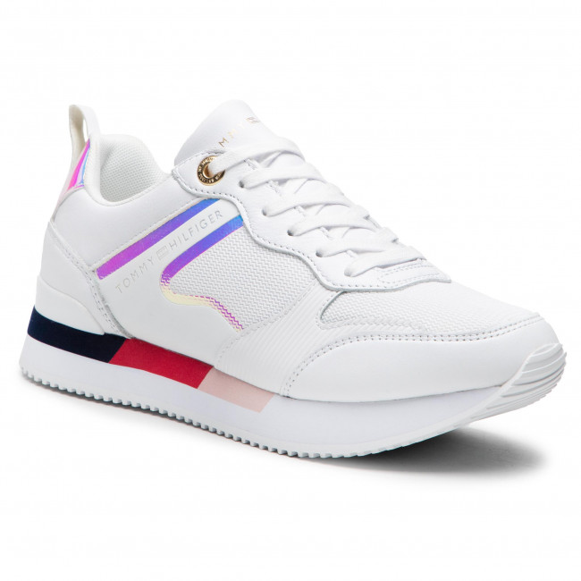 Sneakersy TOMMY HILFIGER - Feminine Active City Sneaker FW0FW05556 Pwb OGY